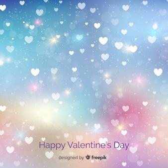 Szczęśliwy Walentynki tło