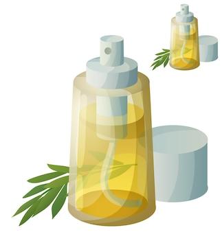 Szczegółowa ikona. olej do smażenia w sprayu na białym tle.