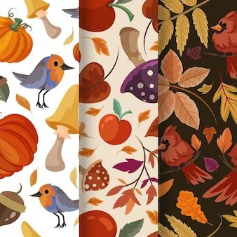 Szczegółowa kolekcja jesiennych wzorów