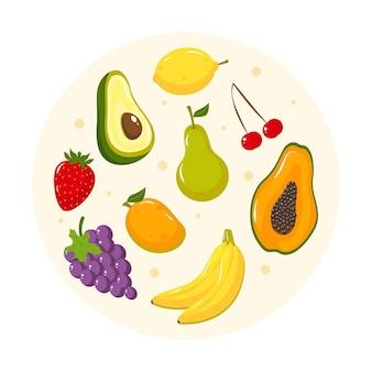 Szczegółowa zbiórka owoców