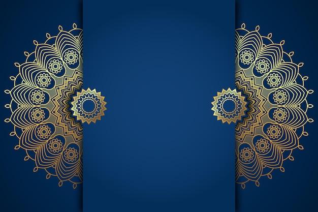 Szczegółowe arabskie tło w stylu papieru