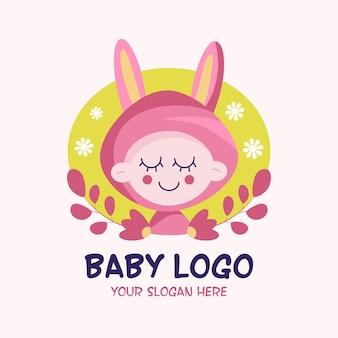 Szczegółowe logo dziecka