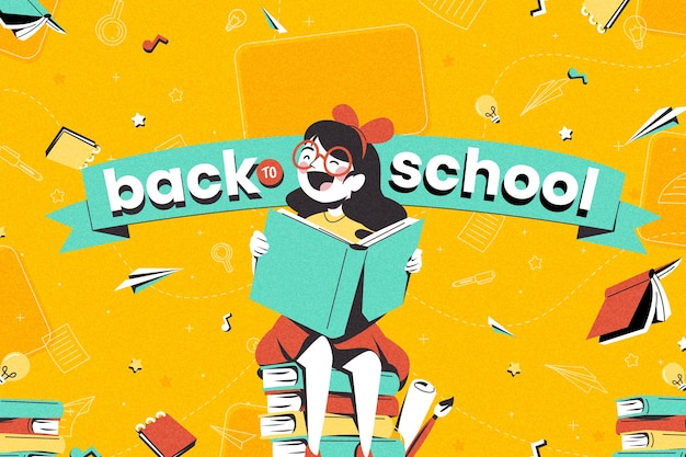 Szczegółowy powrót do tła szkolnego