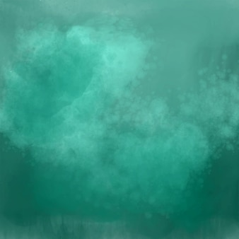 Szczegółowy zielony odcień tła akwarela