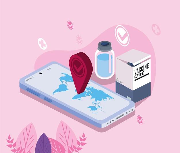 Szczepionka i smartfon