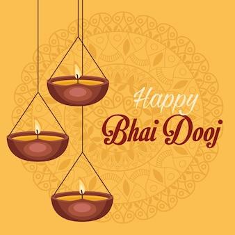 Szczęśliwa karta bhai dooj