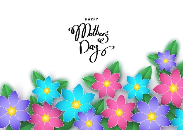 Szczęśliwa karta dnia matki