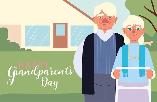 Szczęśliwa karta dzień dziadków