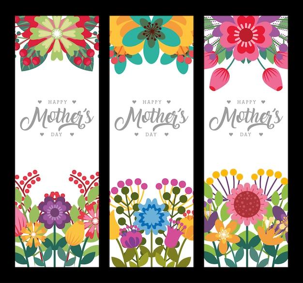 Szczęśliwa karta dzień matki
