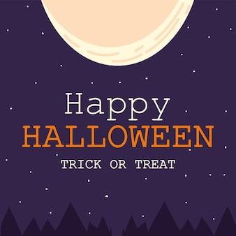 Szczęśliwa karta halloween