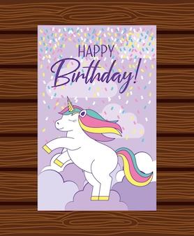 Szczęśliwa kartka urodzinowa