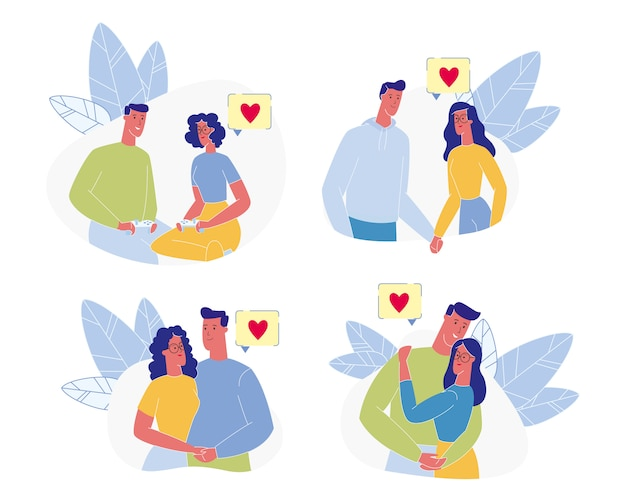 Szczęśliwa para sparetime. loving man woman meeting