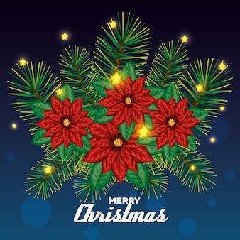 Szczęśliwa wesoło kartka bożonarodzeniowa
