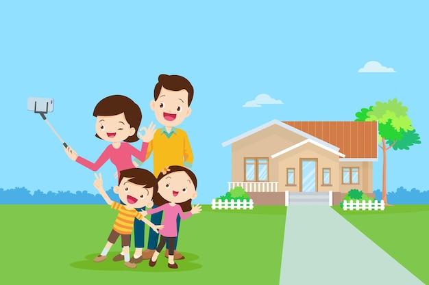 Szczęśliwe osoby starsze bądź szczęśliwe na wózku z rodzicami