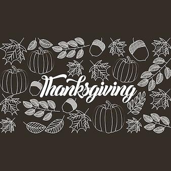 Szczęśliwe święto dziękczynienia świętować