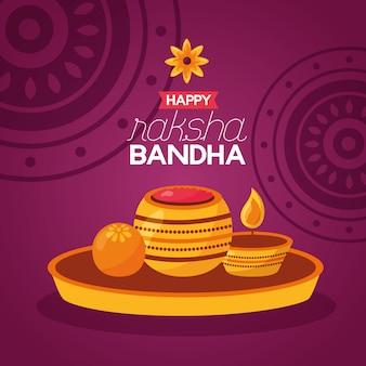 Szczęśliwe święto raksha bandhan