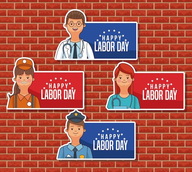 Szczęśliwe symbole dnia pracy