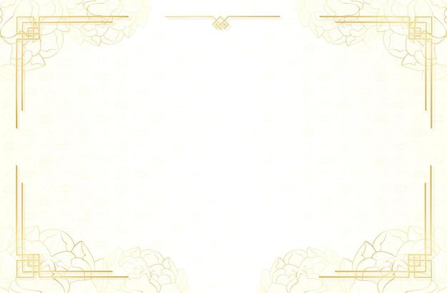 Szczęśliwego chińskiego nowego roku 2020, księżycowy rok szczura, białe tło szablonu. sieć społecznościowa baner internetowy lub broszura. ilustracja wektorowa