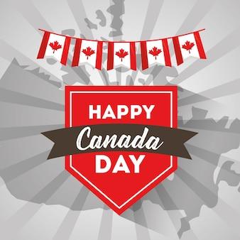 Szczęśliwego dnia kanady