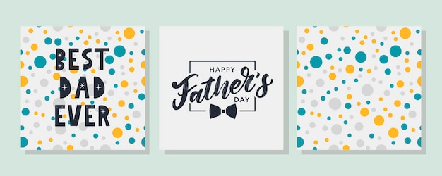 Szczęśliwego dnia ojca. najlepszy zestaw dla taty
