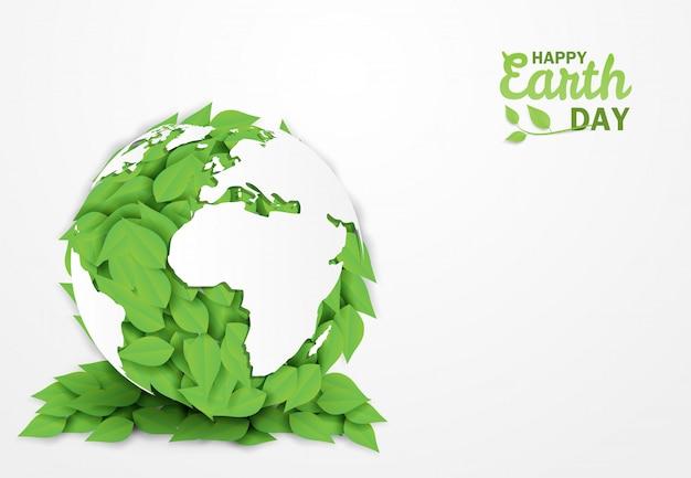 Szczęśliwego dnia ziemi.