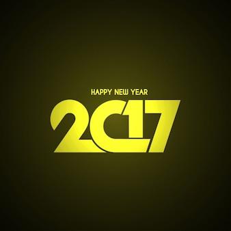 Szczęśliwego nowego roku 2017 błyszczący wzór tła tekstu