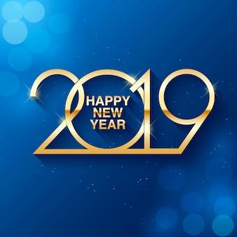 Szczęśliwego nowego roku 2019 tekst projektu.