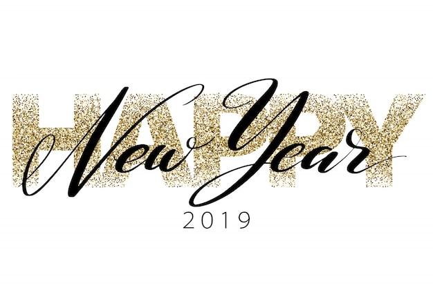 Szczęśliwego nowego roku 2019.