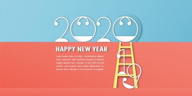 Szczęśliwego nowego roku 2020, roku szczura
