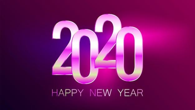 Szczęśliwego nowego roku 2020 wakacje.
