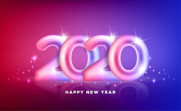 Szczęśliwego nowego roku 2020. wakacje