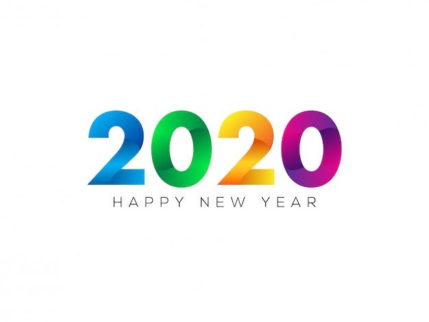 Szczęśliwego nowego roku 2020