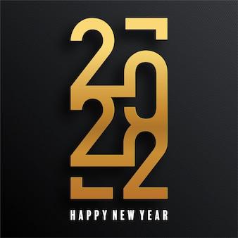 Szczęśliwego nowego roku 2022 w tle