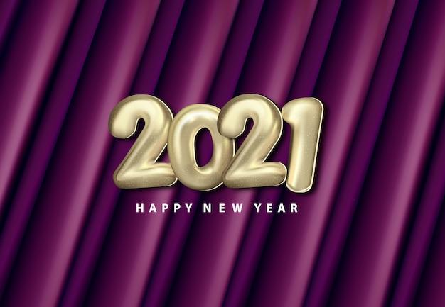 Szczęśliwego nowego roku cięcia papieru tło streszczenie realistyczne wycinanka