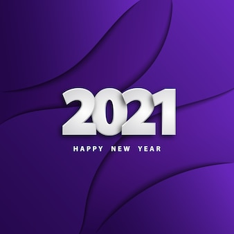 Szczęśliwego nowego roku cięcia papieru tło