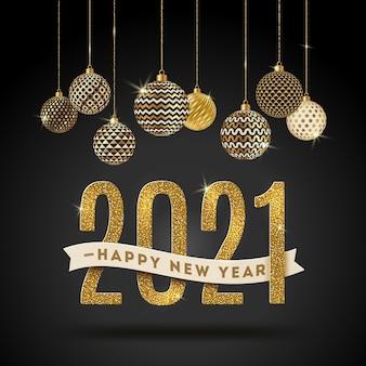 Szczęśliwego nowego roku - ilustracja wakacje.