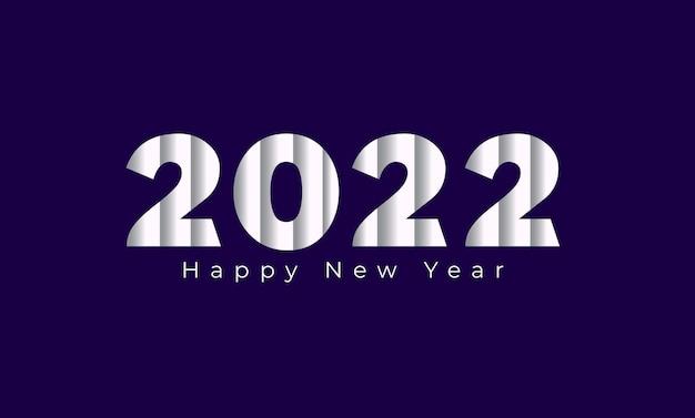 Szczęśliwego nowego roku nagłówek kalendarza 2022 kartkę z życzeniami szablon tła