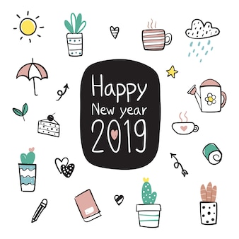 Szczęśliwego nowego roku projektowania