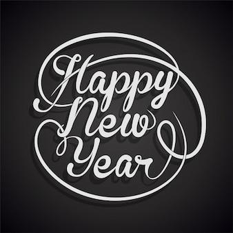 Szczęśliwego nowego roku tła