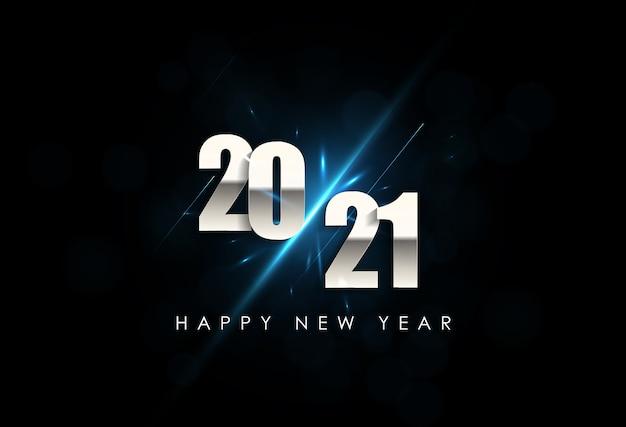 Szczęśliwego nowego roku tło wakacje.