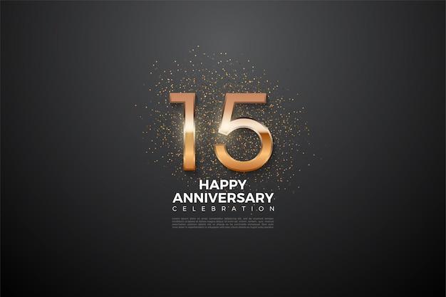 Szczęśliwej rocznicy 15 ujawniło liczby.