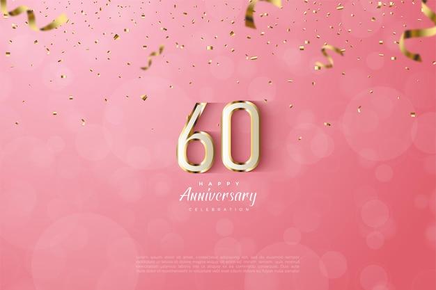 Szczęśliwy 60. rocznica tła