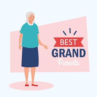 Szczęśliwy dzień babci i babci