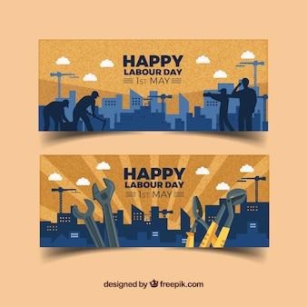 Szczęśliwy dzień banery