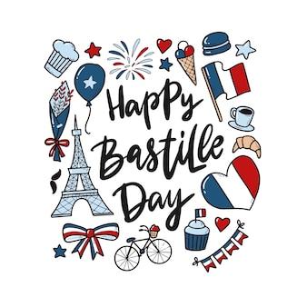 Szczęśliwy dzień bastylii cytat z doodles