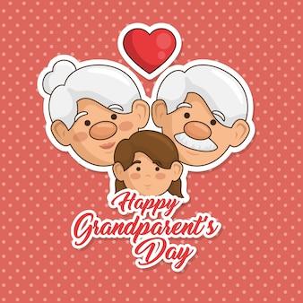 Szczęśliwy dzień dziadka karty