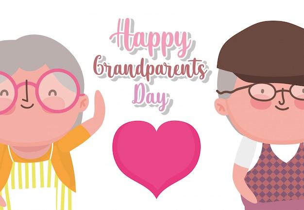 Szczęśliwy dzień dziadków kreskówka