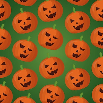 Szczęśliwy dzień halloween wzór