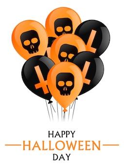 Szczęśliwy dzień halloween.