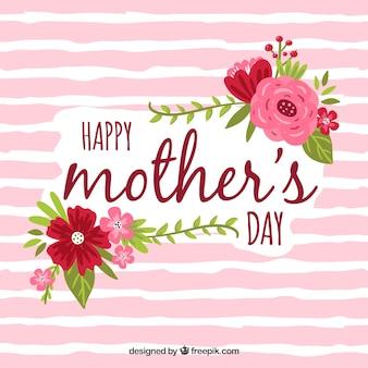 Szczęśliwy dzień matki tła